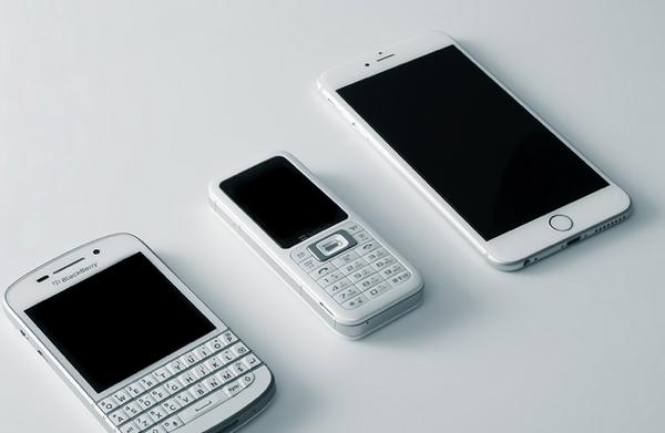 スマートフォンとフィーチャーフォン