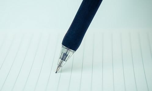 ペンで書く